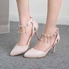 Megan - Pointy High-Heel Sandals