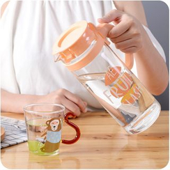 Good Living - Glass Water Bottle