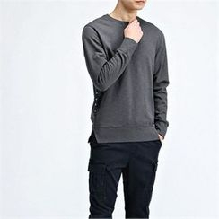 THE COVER - Long-Sleeve Washed T-Shirt
