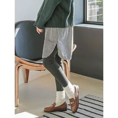 LOLOten - Brushed-Fleece Lined Leggings