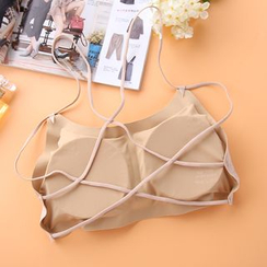 Ladie's Den - Strappy Bra Top