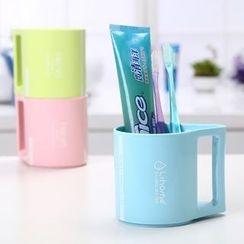 Home Simply - 塑膠簡約牙刷杯