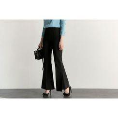 UPTOWNHOLIC - Seam-Front Dress Pants
