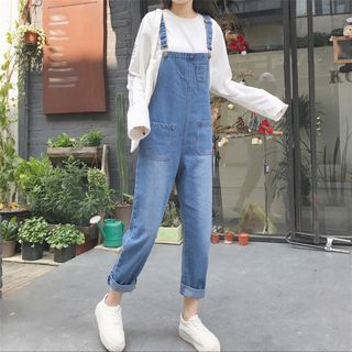 OCTALE - Straight Fit Jumper Jeans