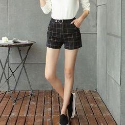 Romantica - Check Shorts