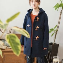 Angel Love - Hooded Toggle Coat