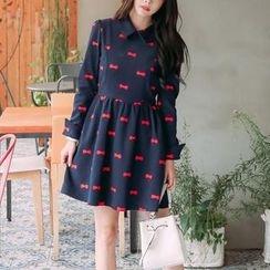Jolly Club - Printed Collared Dress