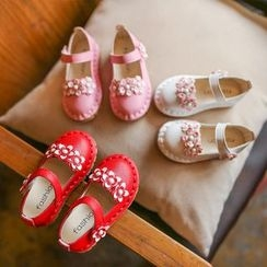 Hambu - Kids Flower Accent Flats