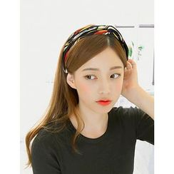 soo n soo - Geometric Print Head Band