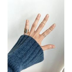 UPTOWNHOLIC - Set of 4: Rings