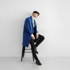 Seoul Homme - Single-Breasted Colored Coat