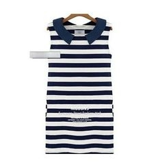 Dream a Dream - Striped Tank Dress