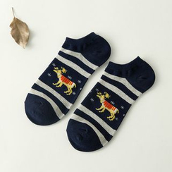 MUMBLE - Deer Print Socks