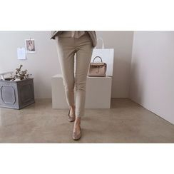 DAILY LOOK - Band-Waist Pants