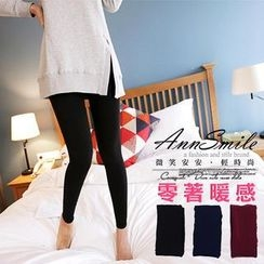 AnnSmile - Fleece-Lined Leggings