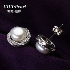 ViVi Pearl - Freshwater Pearl Earrings