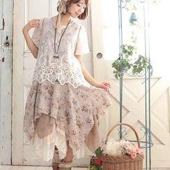 Nectarine - Floral Tank Dress