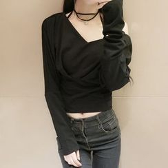 ZAPPA - Off-Shoulder Long-Sleeve Crop Top