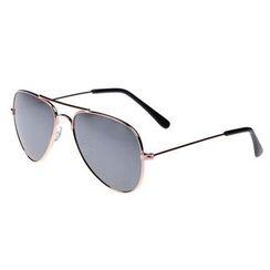 Oulaiou - Mirrored Aviator Sunglasses