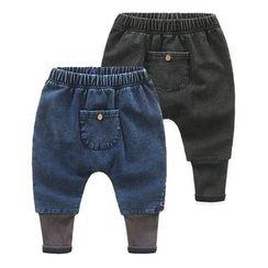 Seashells Kids - Kids Pocketed Band Waist Jeans