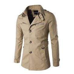 Fireon - Plain Trench Coat
