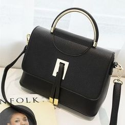 enoi - Faux Leather Shoulder Bag