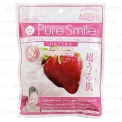 Sun Smile - Pure Smile Essence Mask (Strawberry Milk)