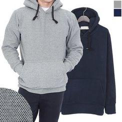 Seoul Homme - Brushed-Fleece Lined Hoodie