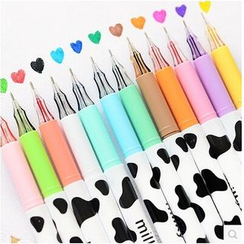 Class 302 - Milk Cow Print Gel Pen