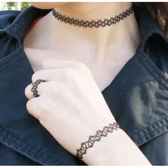 Ticoo - Choker Necklace / Ring / Bracelet