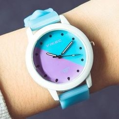 Crocosmia - Color-Block Strap Watch