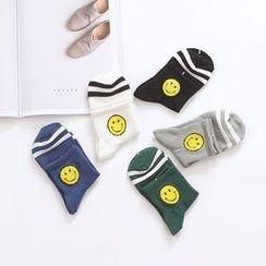 Socka - 笑脸中筒袜