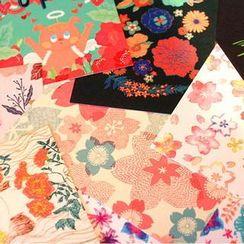 BABOSARANG - Set: Flower Postcard (11pcs + Sticker)