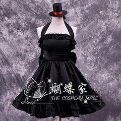 Coshome - K-On! Akiyama Mio Cosplay Costume