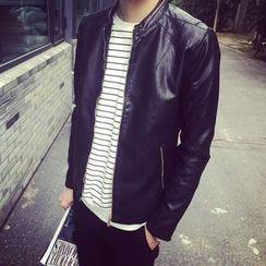 Belinsky - Faux Leather Jacket