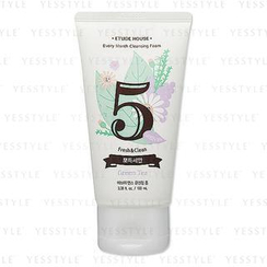 Etude House - Every Month Cleansing Foam 05 Fresh & Clean (Green Tea)