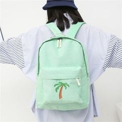 Tasche - Set : Print Backpack + Shoulder Bag + Pouch