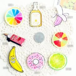 Tivi Boutique - Food Print Brooch