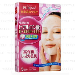 Utena - Puresa Facial Sheet Mask (Hyaluronic Acid + Royal Jelly Extract)
