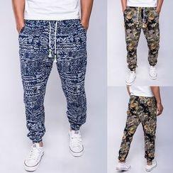 Fireon - Patterned Sweatpants