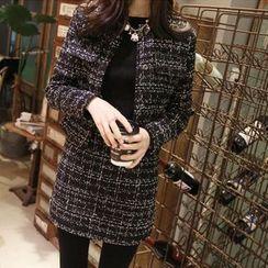 Angel Shine - Set: Wool Cardigan + Skirt