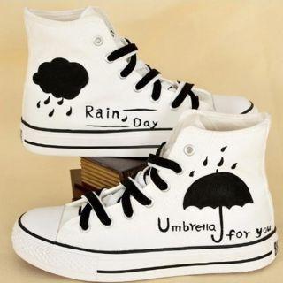 HVBAO - Painted Umbrella Sneakers
