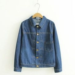 TOJI - Buttoned Denim Jacket