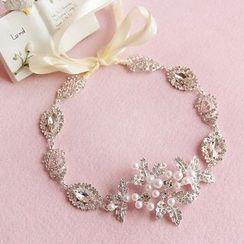 constello - Bridal Faux Pearl Hair Tie