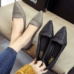 SouthBay Shoes - Pointy Toe Flats