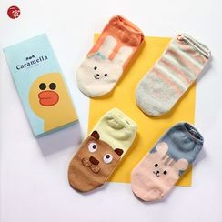 Socka - Set of 4: Printed Socks