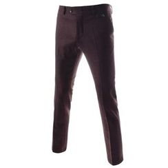 TheLees - Flat-Front Dress Pants