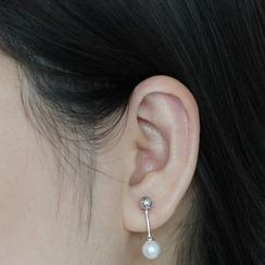 Love Generation - Faux Pearl Earrings