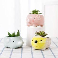 Home Simply - Animal Mini Plant Pot