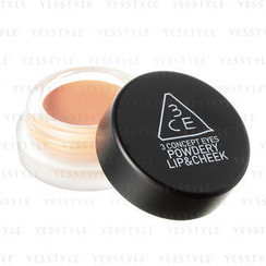 3 CONCEPT EYES - Powdery Lip & Cheek (My Peach)